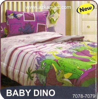 sprei My Love S3 Baby Dino