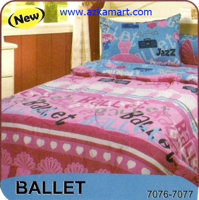 sprei My Love S3 Ballet