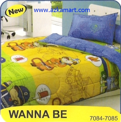 sprei My Love Single Wanna Be