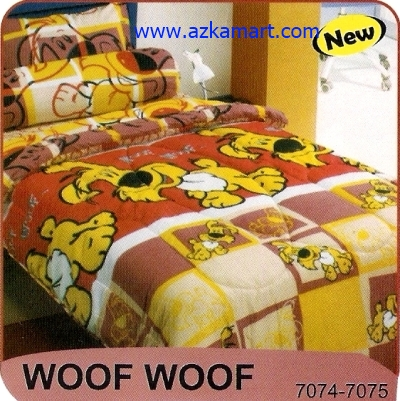 sprei My Love S3 Woof Woof