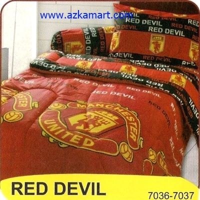 sprei My Love Red Devil Manchester United