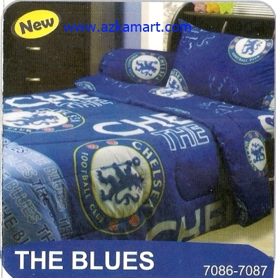sprei My Love The Blues Chelsea