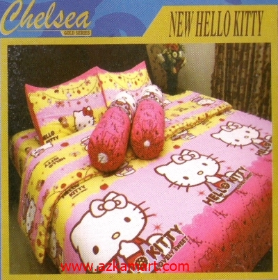 sprei bonita hello kitty play : Sprei Chelsea Kids Editions Grosir Online Sprei Murah