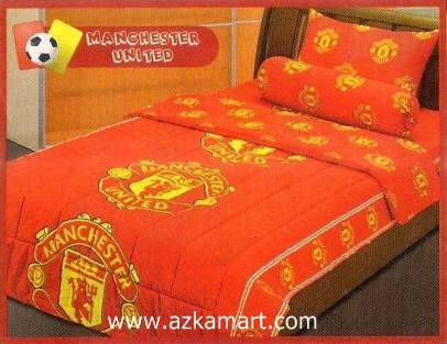 sprei bola saputra Manchester United