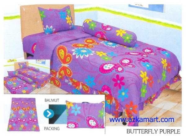 21-sprei-lady-rose-single-butterfly-purple