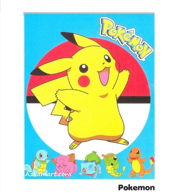 jual selimut internal karakter anak pokemon go