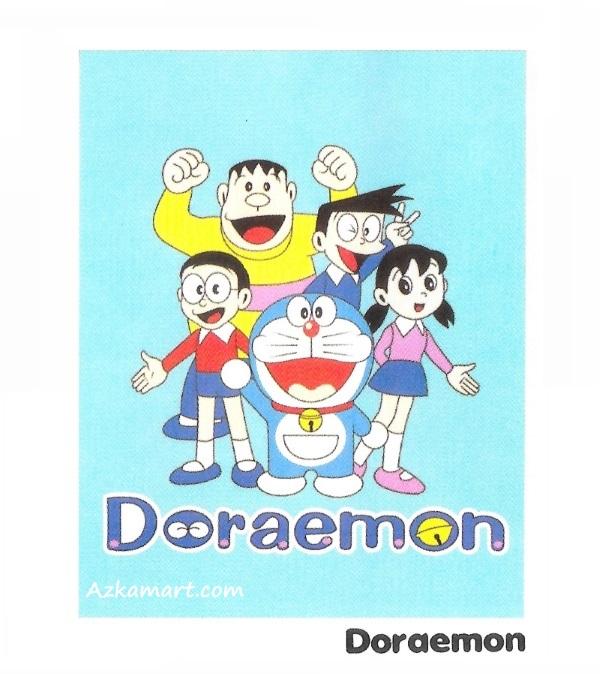 jual selimut internal karakter anak doraemon