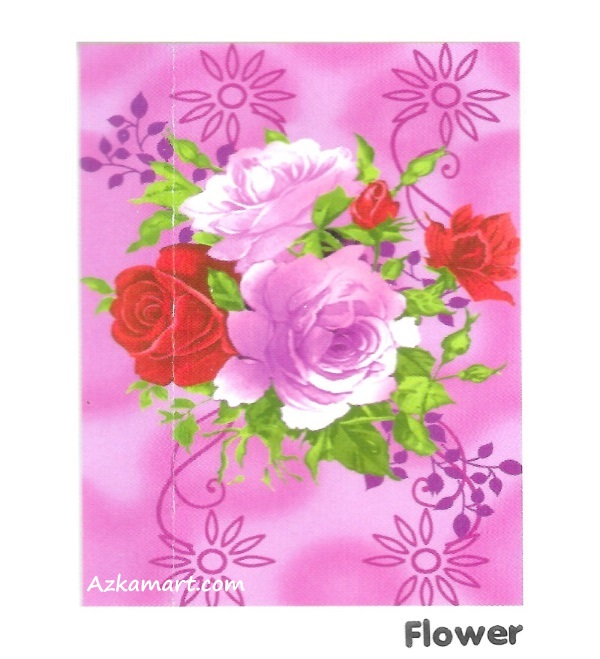 jual selimut internal murah motif bunga flower