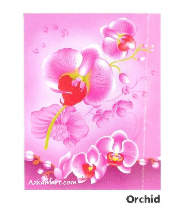 jual selimut internal murah motif orchid