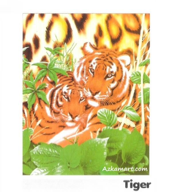 jual selimut internal murah motif harimau tiger
