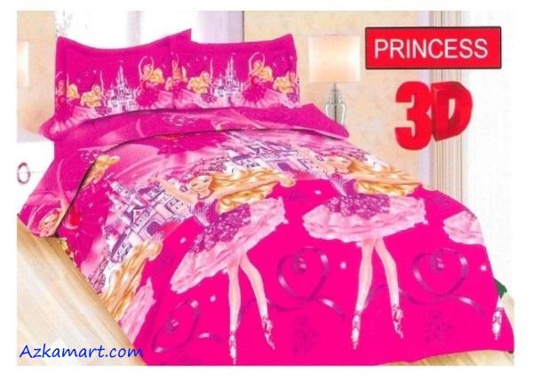 jual sprei bonita motif karakter anak princess
