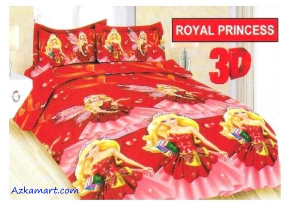 jual sprei bonita motif karakter anak royal princess