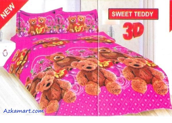 jual sprei bonita motif karakter anak sweet teddy