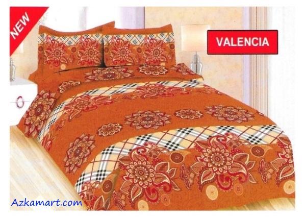 jual sprei bonita terbaru harga murah motif valencia