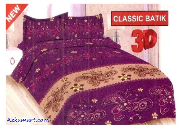 jual sprei bonita terbaru harga murah motif clasik batik