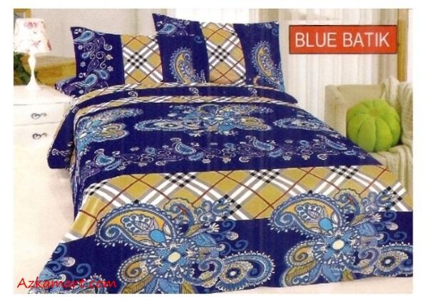 jual sprei bonita terbaru harga murah motif blue batik