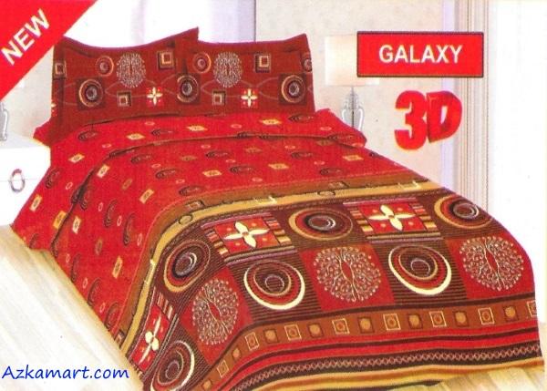 jual sprei bonita terbaru harga murah motif galaxy