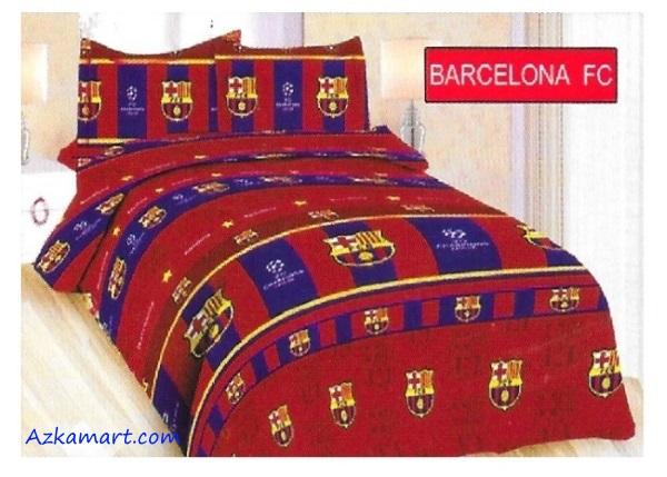 jual sprei bola bonita murah motif barcelona