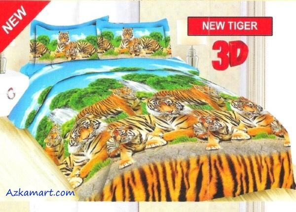 sprei bonita dan bedcover terbaru motif tiger
