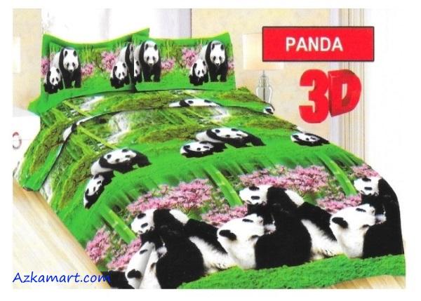 sprei bonita dan bedcover terbaru motif panda