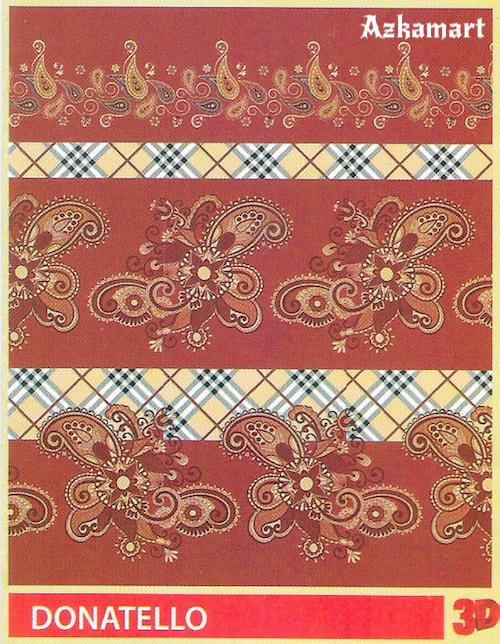 selimut bulu halus lembut paulina by bonita motif donatelo