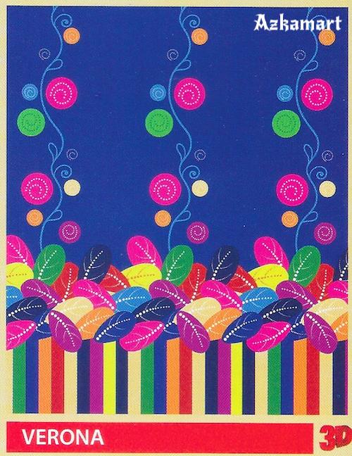 selimut bulu halus lembut paulina by bonita motif verona