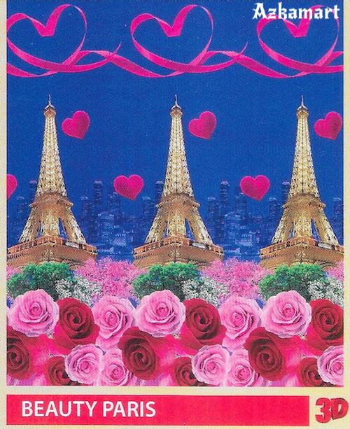 selimut bulu halus lembut paulina by bonita motif beauty paris