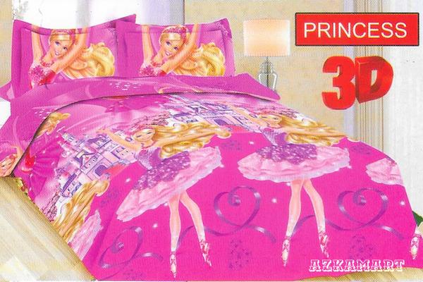 jual beli sprei anak bonita terbaru motif karakter princess