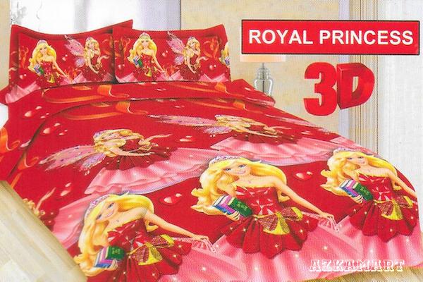 jual beli sprei anak bonita terbaru motif karakter royal princess