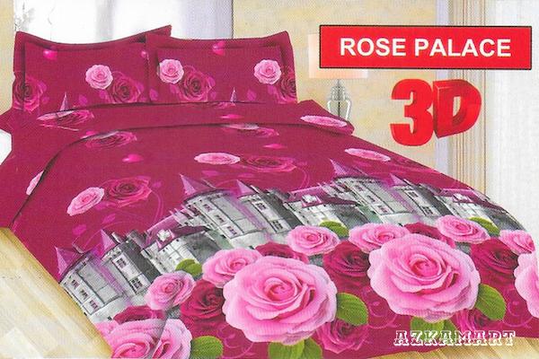 jual beli sprei anak bonita terbaru motif karakter rose palace