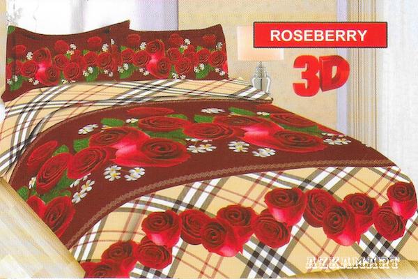 jual beli sprei anak bonita terbaru motif karakter roseberry