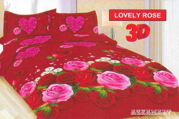 jual beli sprei anak bonita terbaru motif karakter lovely rose