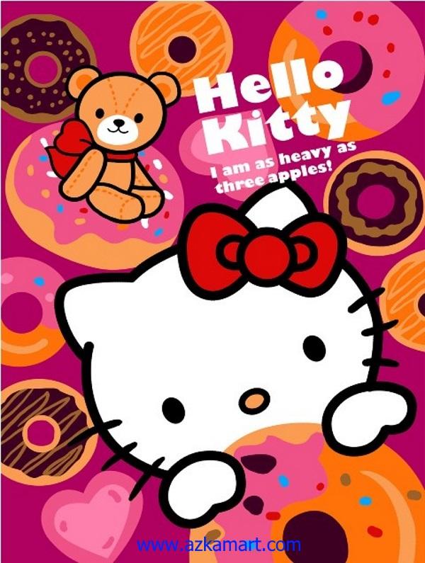 jual beli selimut bulu halus lembut rosanna gambar hello kitty2