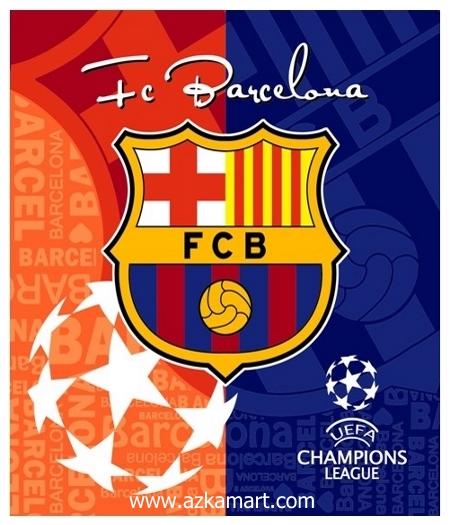 jual beli selimut rosanna king sutra panel gambar barcelona