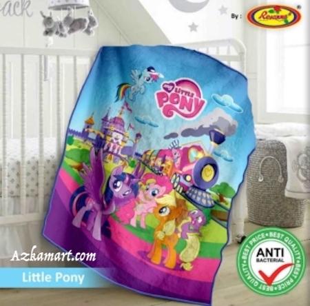 jual selimut bayi kbt rosanna vito gambar little pony