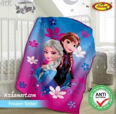 jual selimut bayi kbt rosanna vito gambar frozen anna