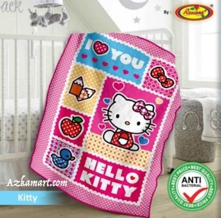 jual selimut bayi kbt rosanna vito gambar hello kitty