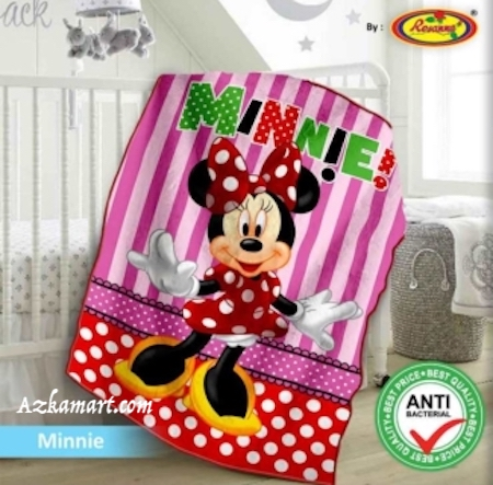 jual selimut bayi kbt rosanna vito gambar minnie