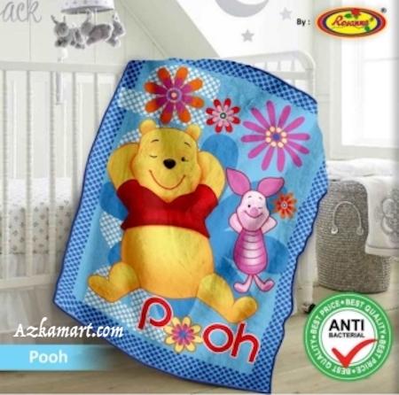jual selimut bayi kbt rosanna vito gambar pooh